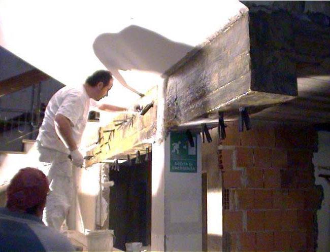Lavoro di adeguamento sismico Caserma Carabinieri Ripabottoni